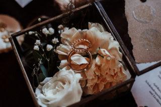 Modern Vintage Wedding - Ringschatulle