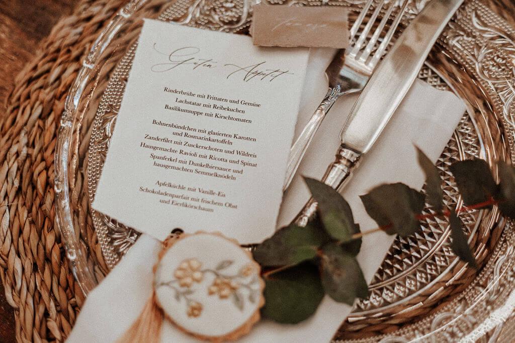 Modern Vintage Wedding - Platzdeko