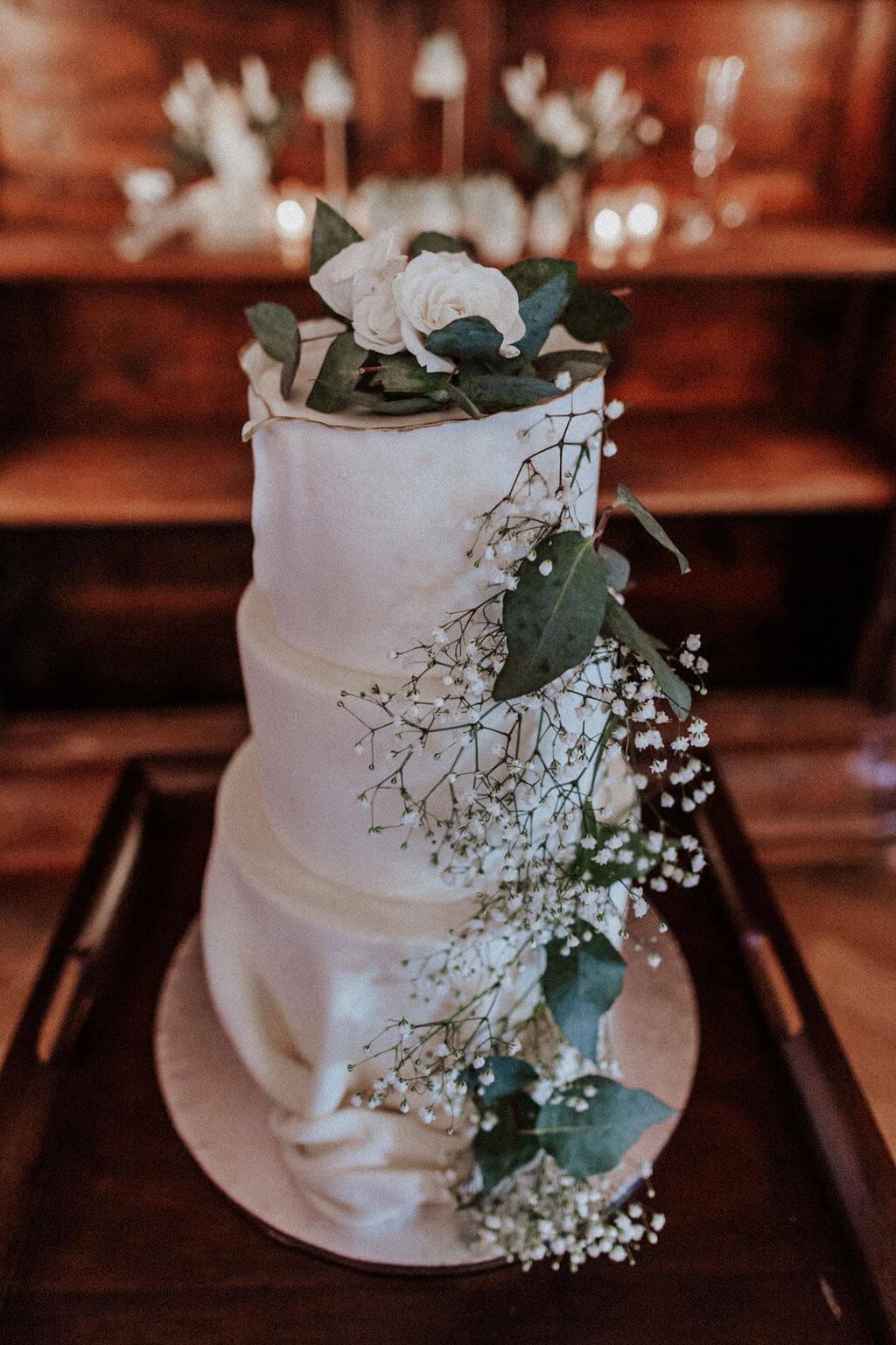 Modern Vintage Wedding - Hochzeitstorte