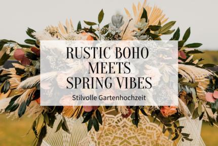Rustic Boho meets Spring Vibes - Titelbild