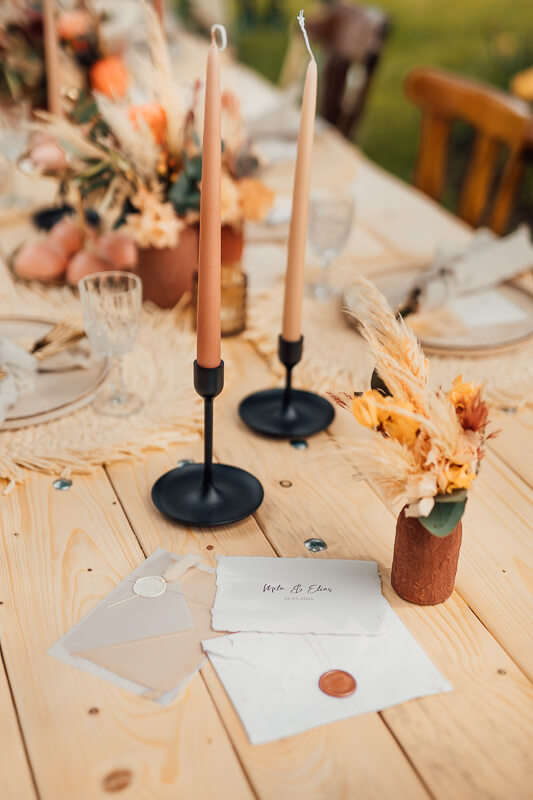 Rustic Boho meets Spring Vibes - Hochzeitspapeterie
