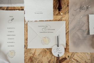 Cream White Boho Dream - Hochzeitspapeterie