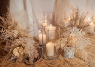 Cream White Boho Dream - Hochzeitsdeko