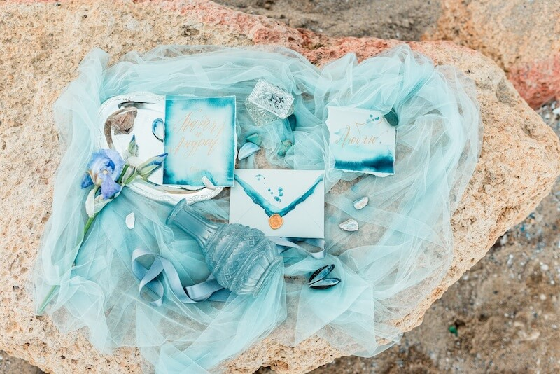 Einzigartige Hochzeitseinladungen - maritim