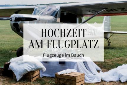 Hochzeit am Flugplatz - Titelbild