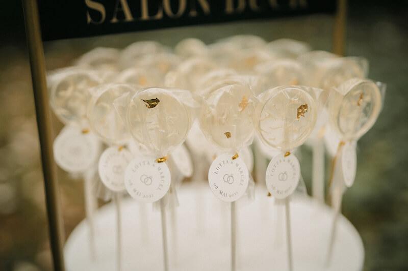 Lollipop-Glamour zur Hochzeit - True Love