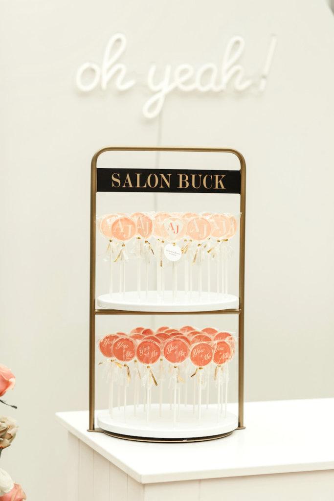 Lollipop-Glamour zur Hochzeit - Etagere