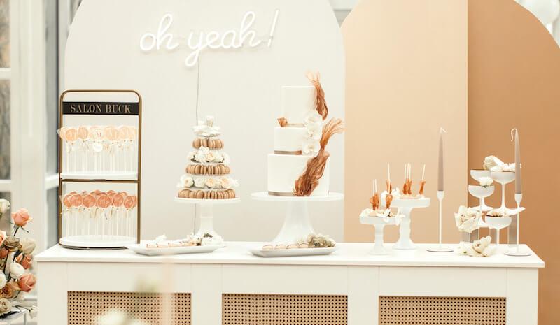 Lollipop-Glamour zur Hochzeit - Candy Bar