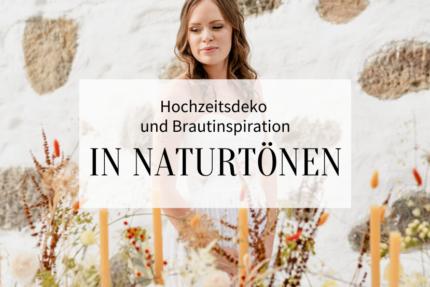 Tischdeko in Naturtönen _Titelbild