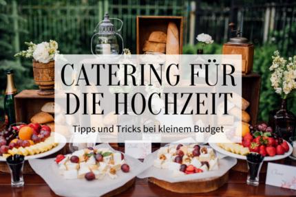 Catering für die Hochzeit - Titelbild
