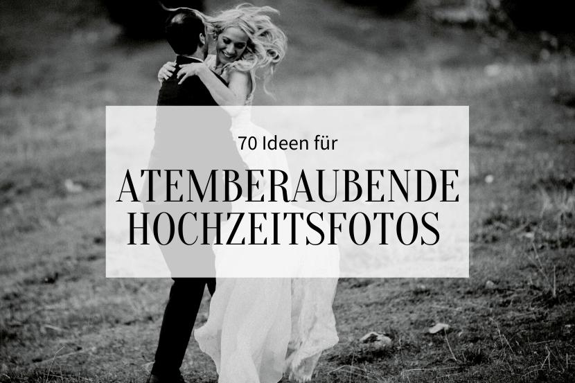 Atemberaubende Hochzeitsfotos-Titelbild
