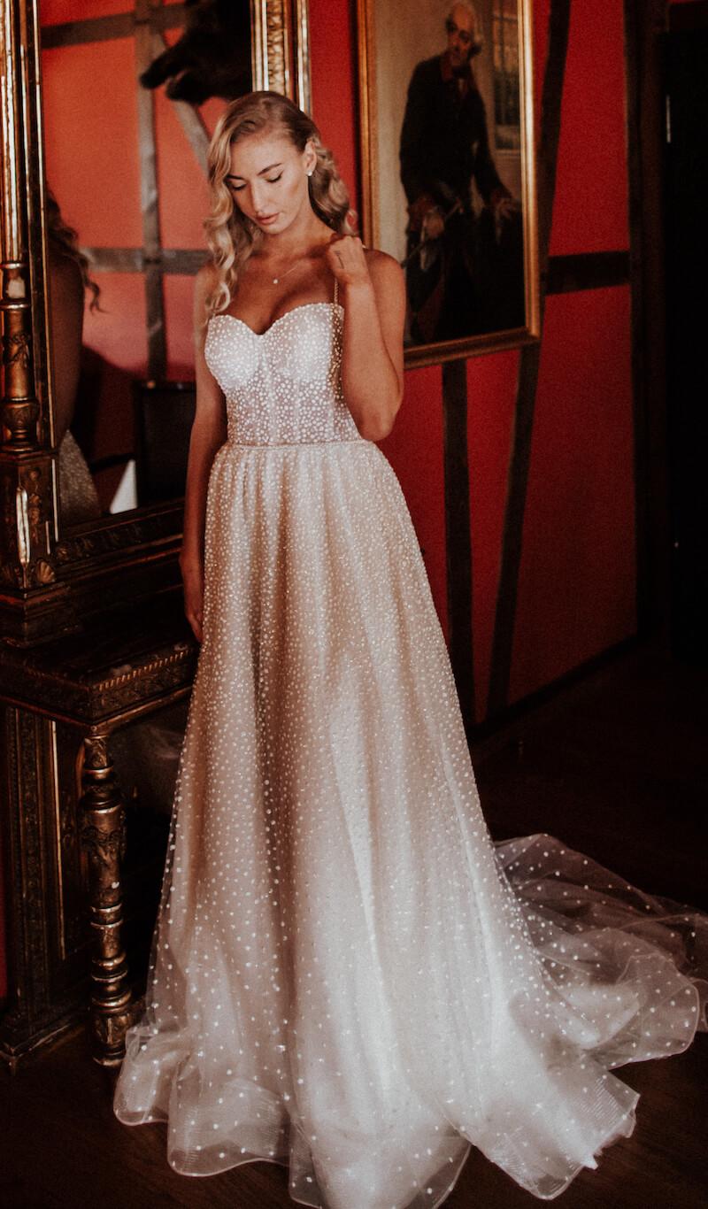 Modern Vintage Wedding - Brautkleid