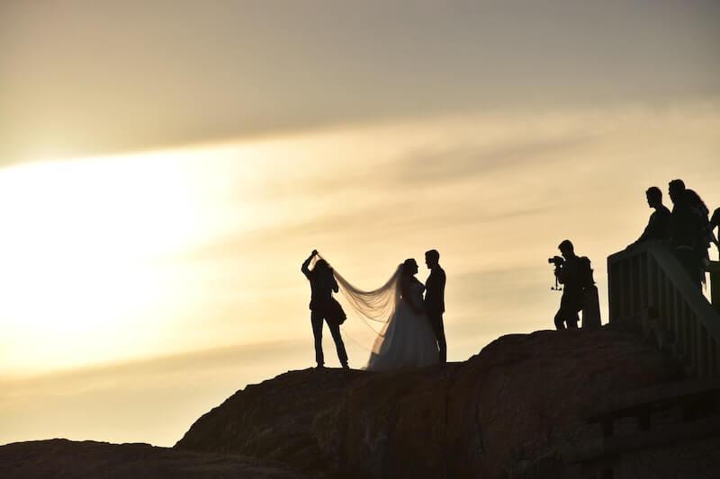 Perfekte Hochzeitsfotos - Landschaft