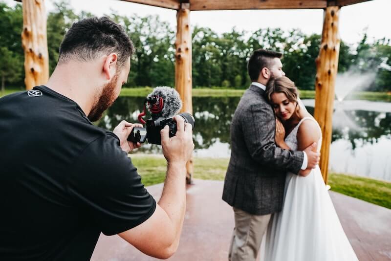 Perfekte Hochzeitsvideos - Brautpaar