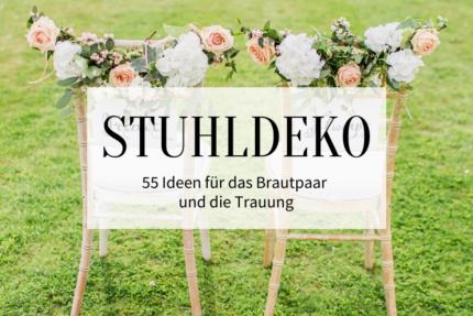 55 Hochzeitsstuhl-Deko-Ideen - Titelbild