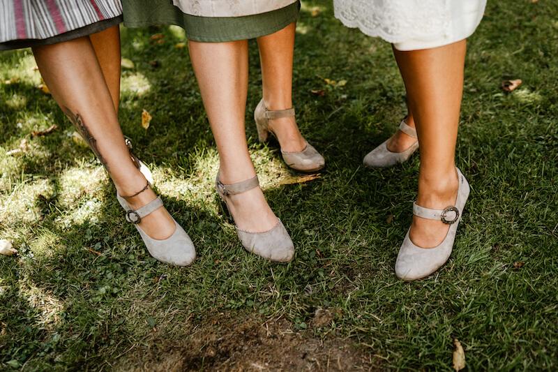 Trachtenhochzeit - Schuhe