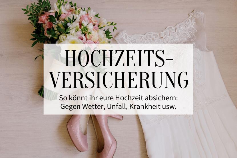 Hochzeitswetterversicherung - Titelbild